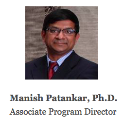 Manish Patankar, Associate Program Director